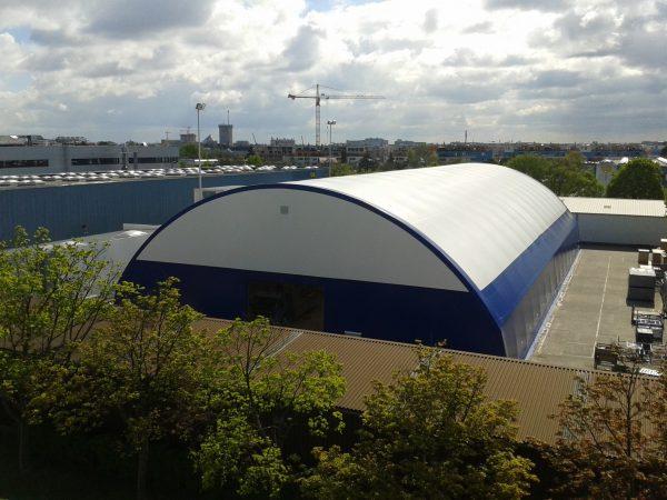 TAS – Die große Rundbogenhalle